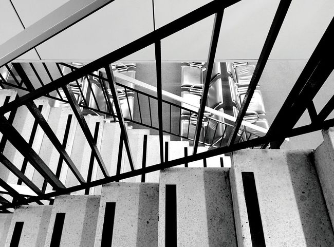Day 135 - While waiting for boarding time Paris Airport Lines Geometry Blackandwhite 365project 365florianmski Day135