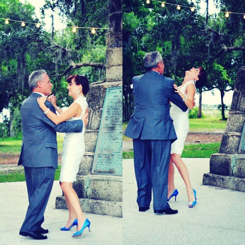 Fountain Of Youth Wedding Father Daughter Dance