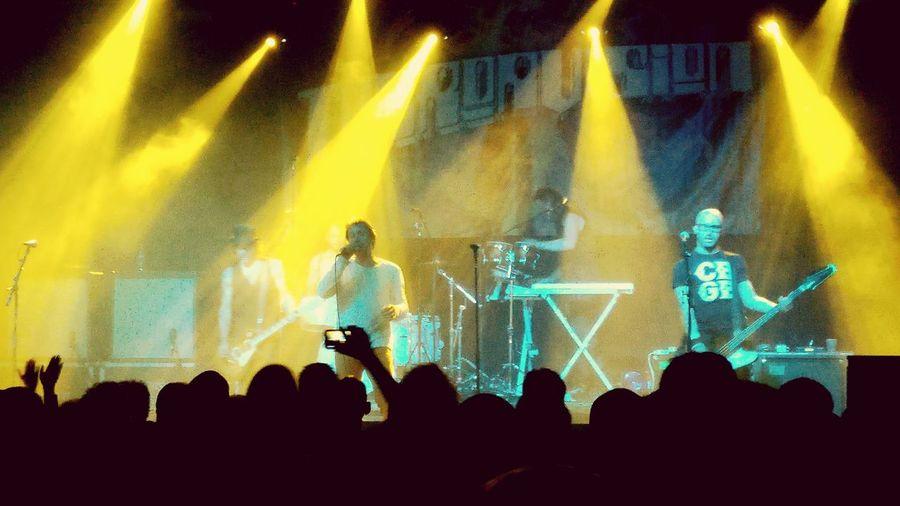 Terrorvision Music Stage - Performance Space Illuminated Rock Music Performance Wulfrun Popular Music Concert Nightlife Cheering Crowd Night First Eyeem Photo TakeoverMusic