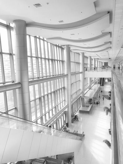 SMX Convention Center Indoors  Architecture No People Day Built Structure Modern SMX Convention Center Jaysalvarez