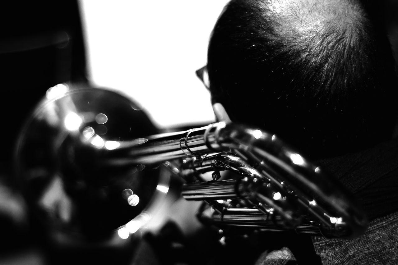 Trombone Jazz Concert Jazz Jazzband Blackandwhite