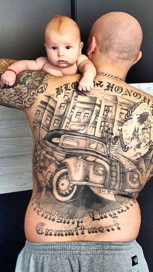 Father & Son Wien Sohn  Son Tattoo Tattooed Tattoos Newborn Baby Babyboy Vienna
