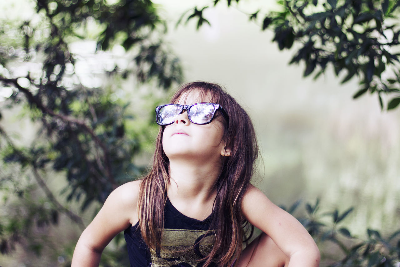 Beautiful stock photos of glasses, Brazil, Brown Hair, Childhood, Children