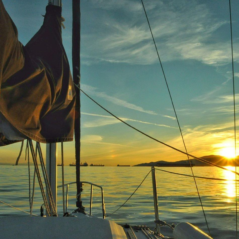 Sunset sails... It's great to have you back summer!