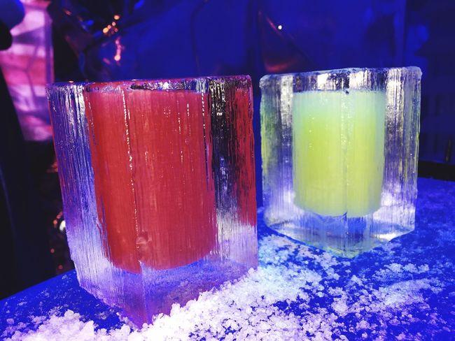 Ice drinks at the Ice bar in London Ice Vodka🍹 Vodka Time!! Icebar London Icehouse Drinks Ice Drinks Iced Cold Freezing Vodka Time  Vodka Cocktail Cocktails United Kingdom Capital Happy Happy Drinks Drinks Time Alchol Freezing Cold Ice