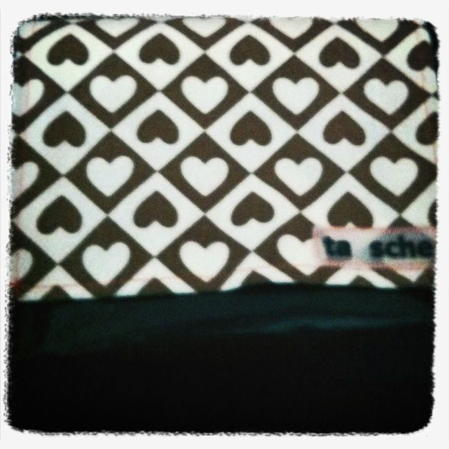 Herz Sewing Tausche Tasche