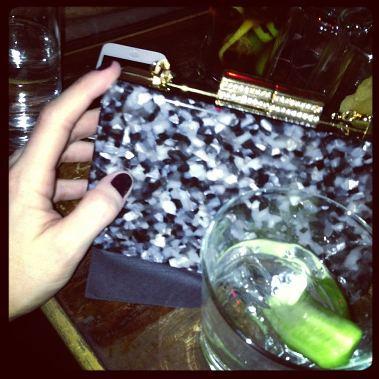 Night out with Gazellaki new minaudiere from new season F/W13 !! Teaaser people!! Teaser Perspex Plexiglass Lucite bag clutch minaudiere handmade industrialdesign design athens moscow russia thailand milan miami paris uraniagazelli marble shell black gold