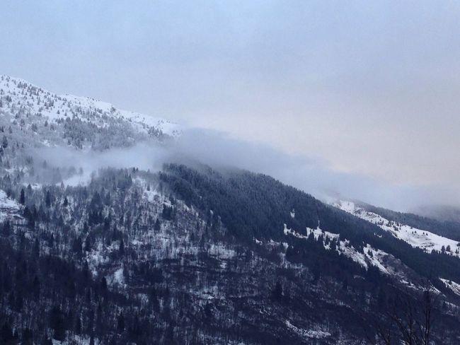 Cloud line over Meribel Cloudline Cloud Meribel Snow