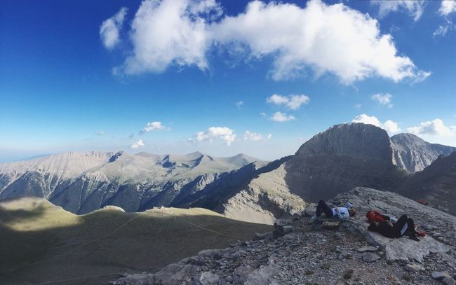 People And Places Mountain Scenics Relaxing Landscape Cloud - Sky