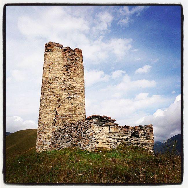 Еще одна башня на маршруте.
