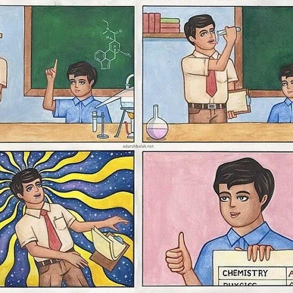 Missing my college chemistry days. lol! Hilomenium