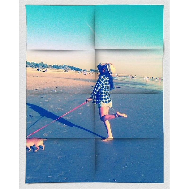 Chillin#enjoyinglife/sun Mydog♡