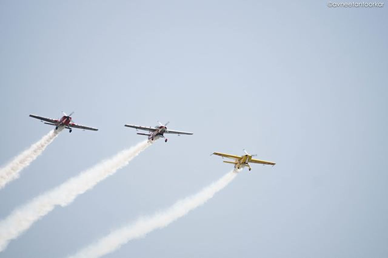 Airshow Gujaratday Celebrations SabarmatiRiverFront Instagram_ahmedabad Gujarat India Acrobatics  Stunts Aeroshow