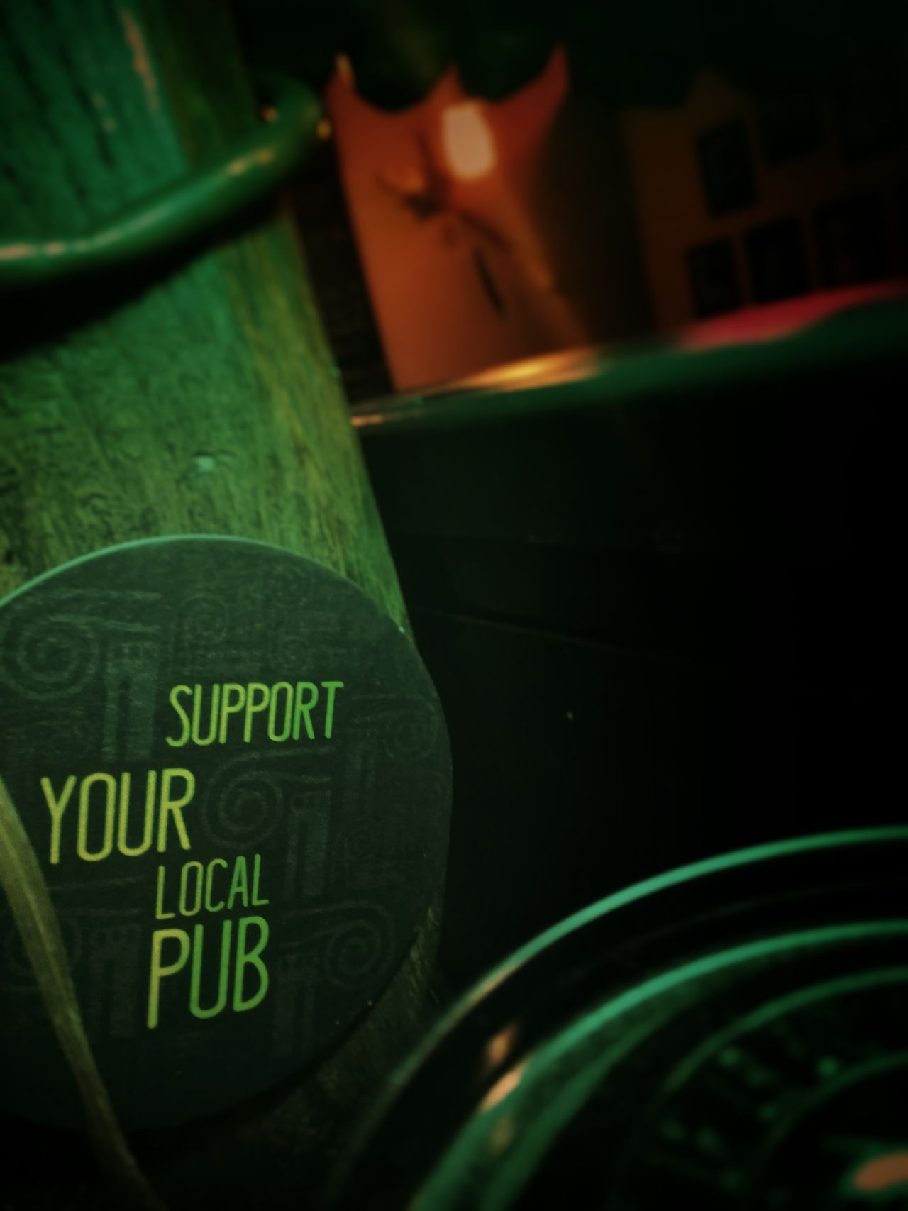 Text Western Script Communication Indoors  No People Close-up Day Wine Cask Wine Pub Bar Alchool Saturdaynight Fun Colors Green Night People Low Light Photography Beer City Life
