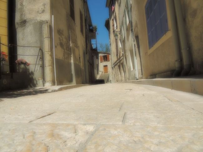 Architecture Building Exterior Built Structure City City Life Day Long Narrow No People Outdoors Provence Residential Building Residential District Street Surface Level The Way Forward