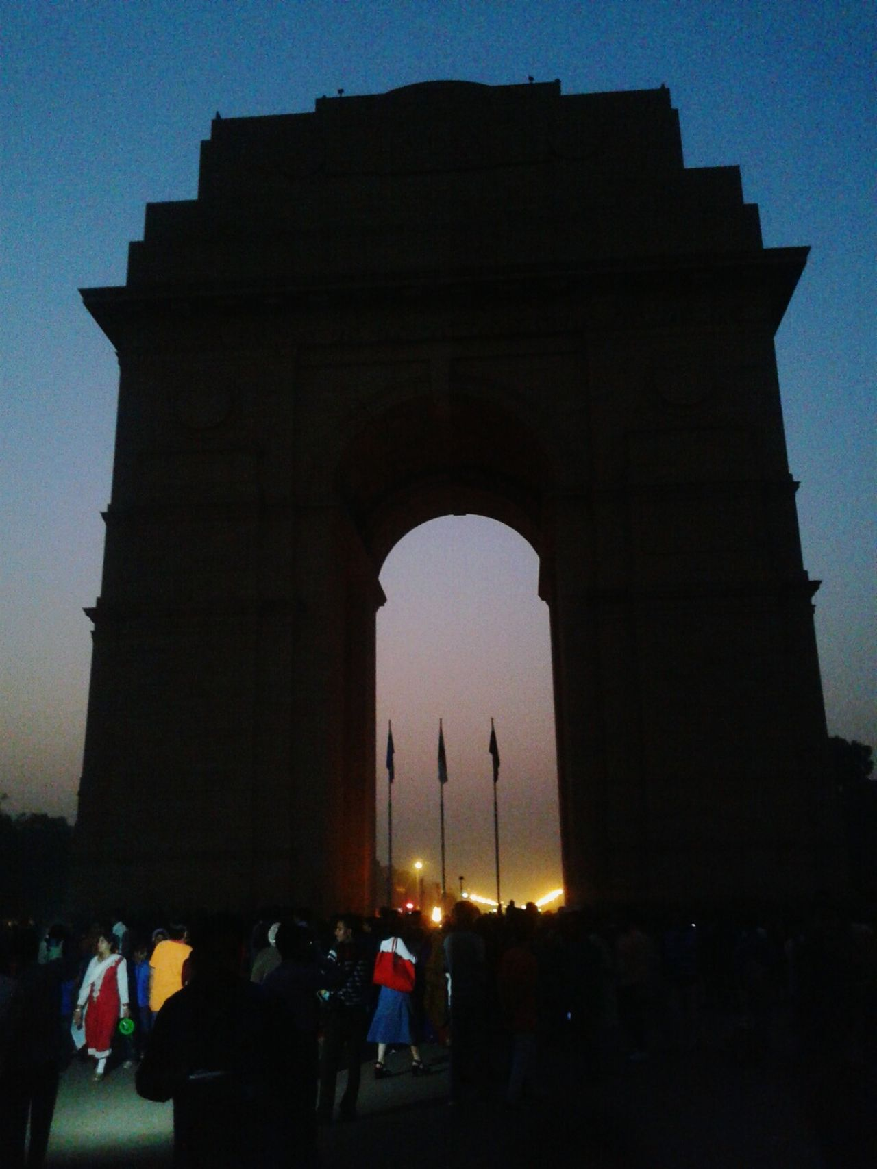 Night Photography Check This Out ☺☺☺🌃🌉 India Gate In Delhi India 😚