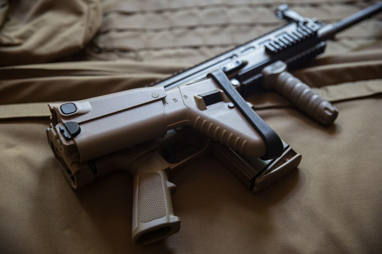 FN SCAR 17 Ammunition Bullet Close-up Day Gun Handgun Indoors  No People Weapon