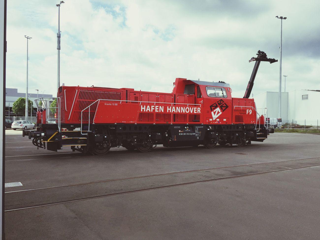 Rangierbahnhof Rangierlokomotive