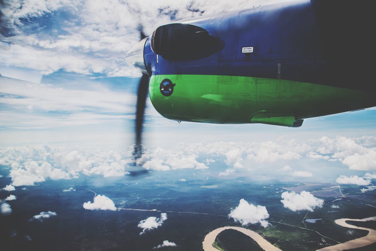 Beautiful stock photos of plane, Air Vehicle, Airplane, Beauty In Nature, Cloud - Sky