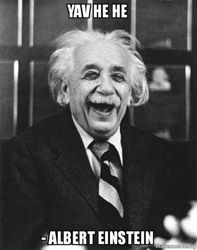 Albert Einstein Yav He He Relaxing :DD