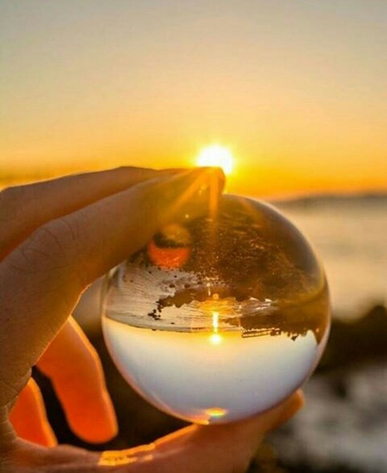 Glassballphotography Sunstet See The Beauty The Big Picture
