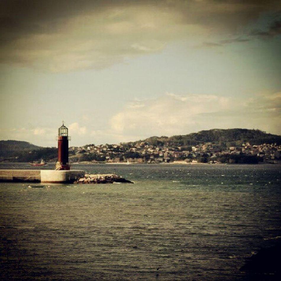 Galicia Vigo Alcabre Lighthouse sea sunset igersvigo igersgalicia rinconesgallegos 10likes