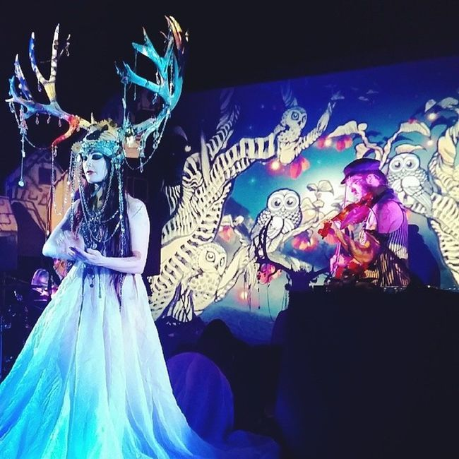 Beatsantique was insane last night. Amazing show, great company. :)