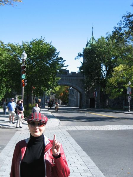 Québec is the only city in North American continent which concerved it´s old city walls. Architecture Blue Sky Background Built Structure Casual Clothing City Life City Walls Leisure Activity Old Tower Quebec Quebec City Quebec Scenery Quebec Street Quebec, Canada Red Jacket Scottish Cap Stone Walls The Way Forward Tourism Tourist Tourist Attraction  Travel Destinations Travel Photography Travelling Colour Of Life People And Places