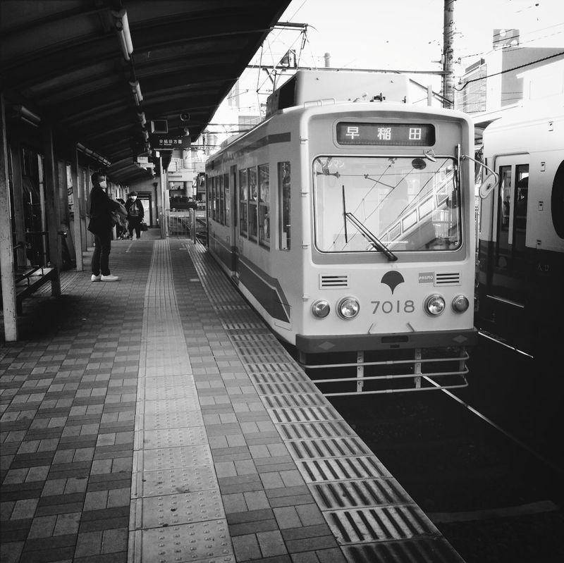 Tokyo Tram Public Transportation