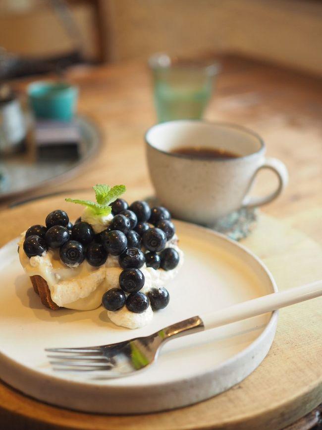 夏はブルーベリーですね(*^_^*) Saitama , Japan Taking Photos Enjoying Life Relaxing Peace And Love Sweet Cakes ケーキ デザート Blueberry Sweet Food