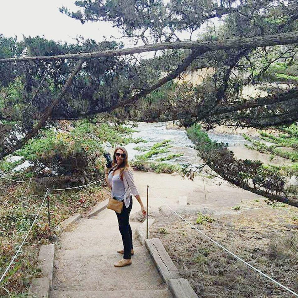 Woman Girl Nature Point Lobos Monterrey Beach Coast California