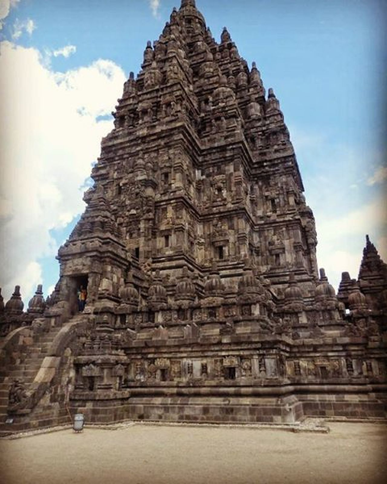 Prambanan Temple in Indonesia ThousandMilesJourney.com ASIA INDONESIA Java Explorejogja Exploreklaten Backpacking Traveling Travelaroundtheworld Temples Prambanan Ruins