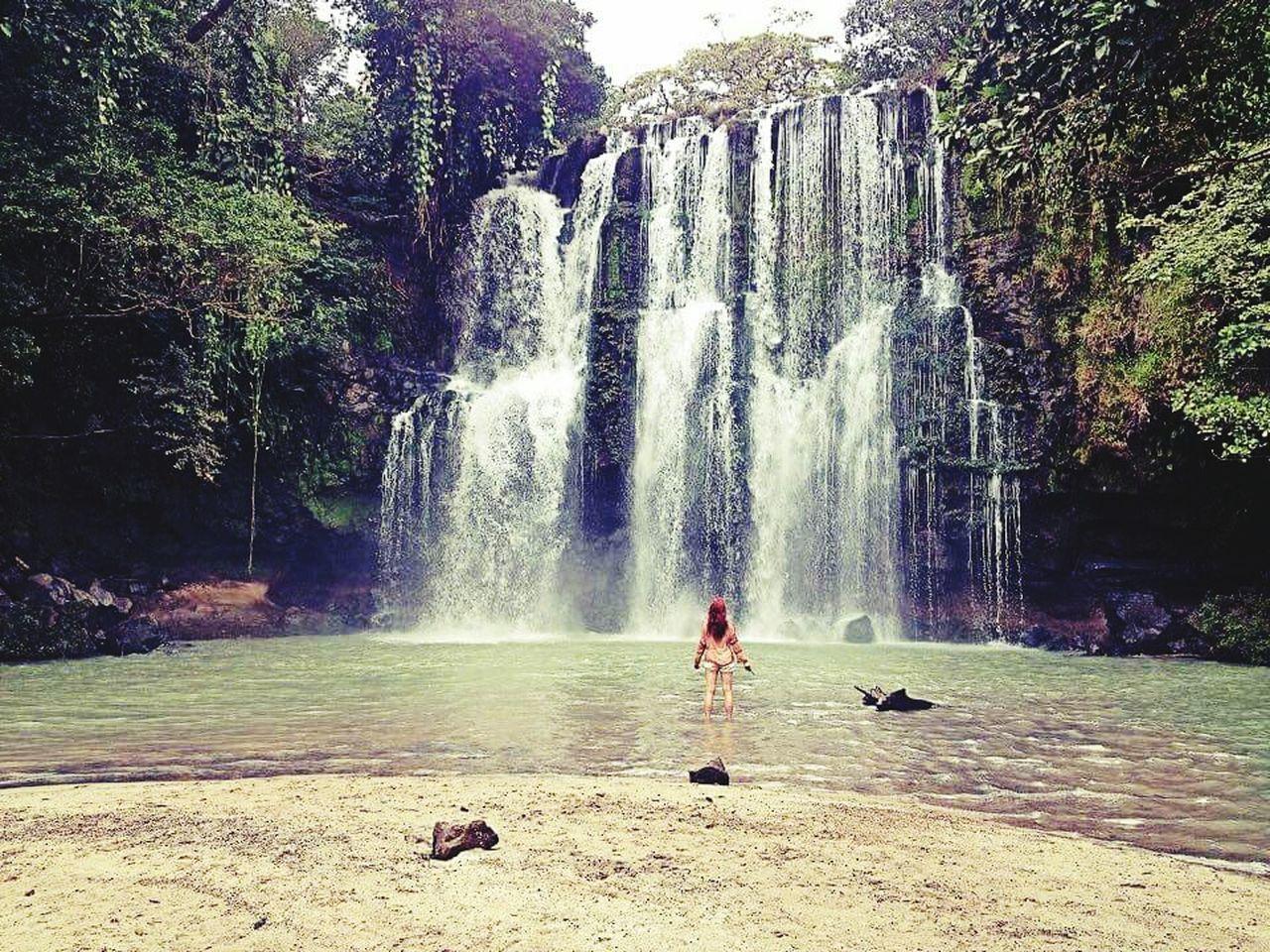Water Costarica Waterfall Cachoeira Cataratas Guanacaste Costa Rica Boavida Bonnevite