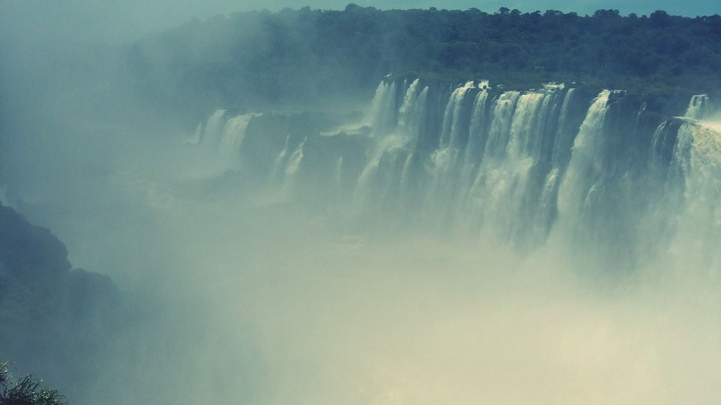 Garganta Del Diablo Cataratas Del Iguazu Argentina ParqueNacionalIguazu Fog Water Nature Torrential Rain Waterfall Extreme Weather Environment No People Outdoors Storm Scenics Landscape Stream - Flowing Water Natural Disaster Power In Nature Thunderstorm Close-up Cyclone Day