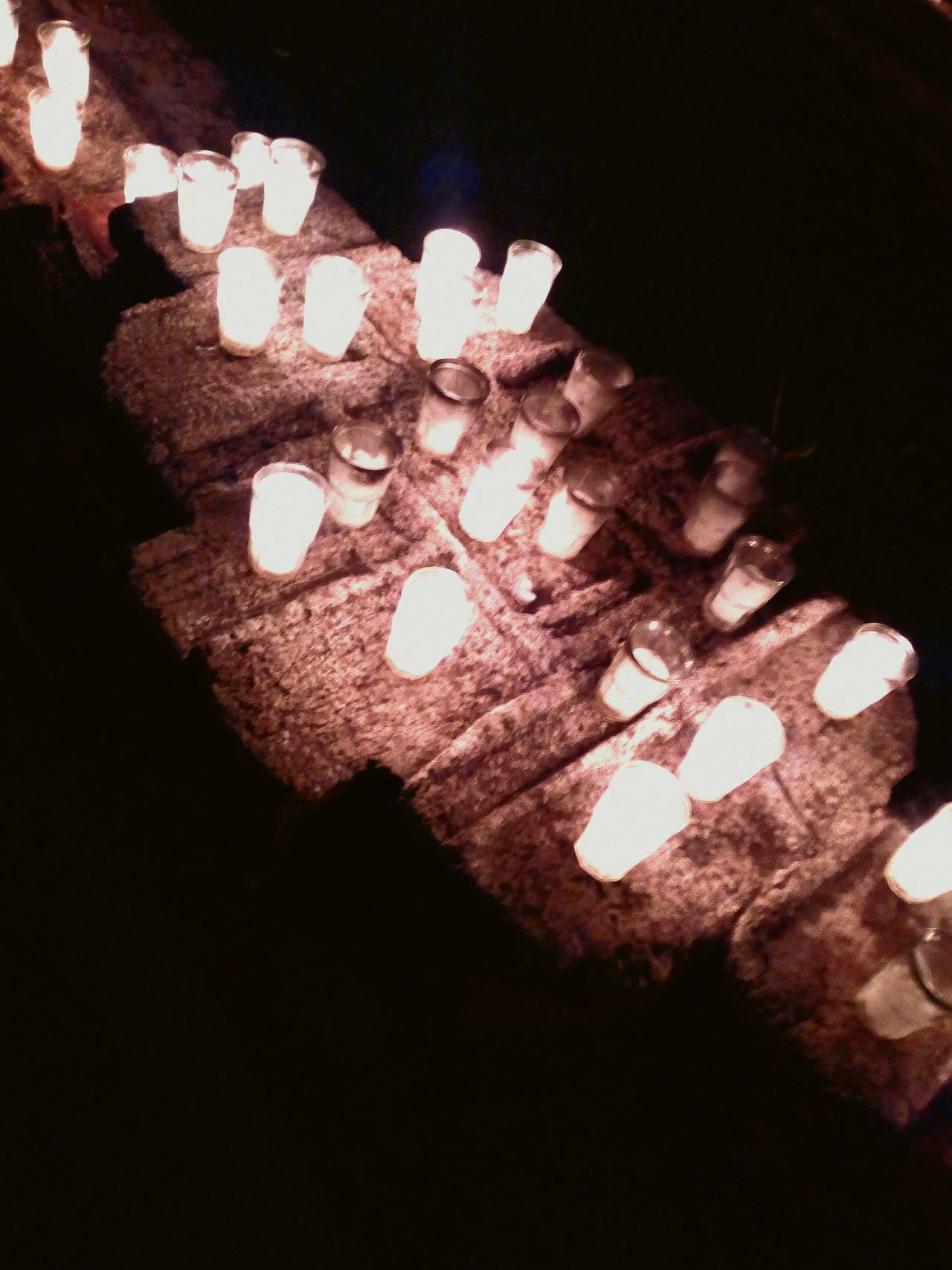 AntiguaGuatemala! ❤ Casa Santo Domingo Dark Candles :)