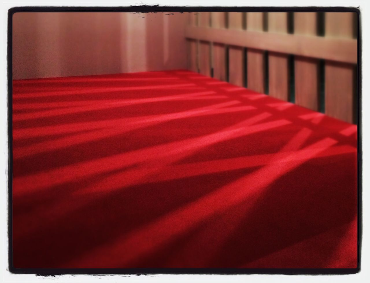 red, indoors, no people, close-up, day