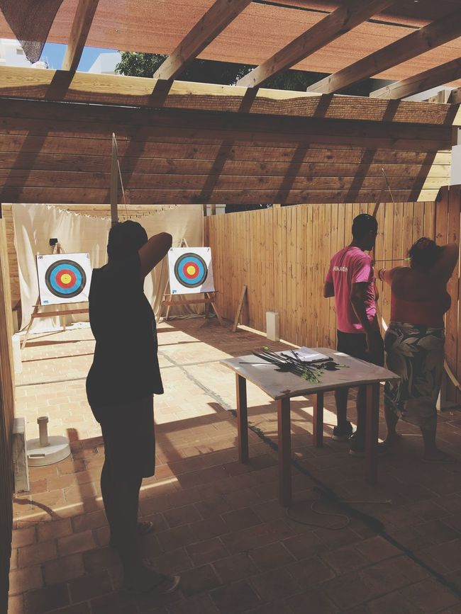 Archers Enjoying Life The Great Outdoors - 2016 EyeEm Awards