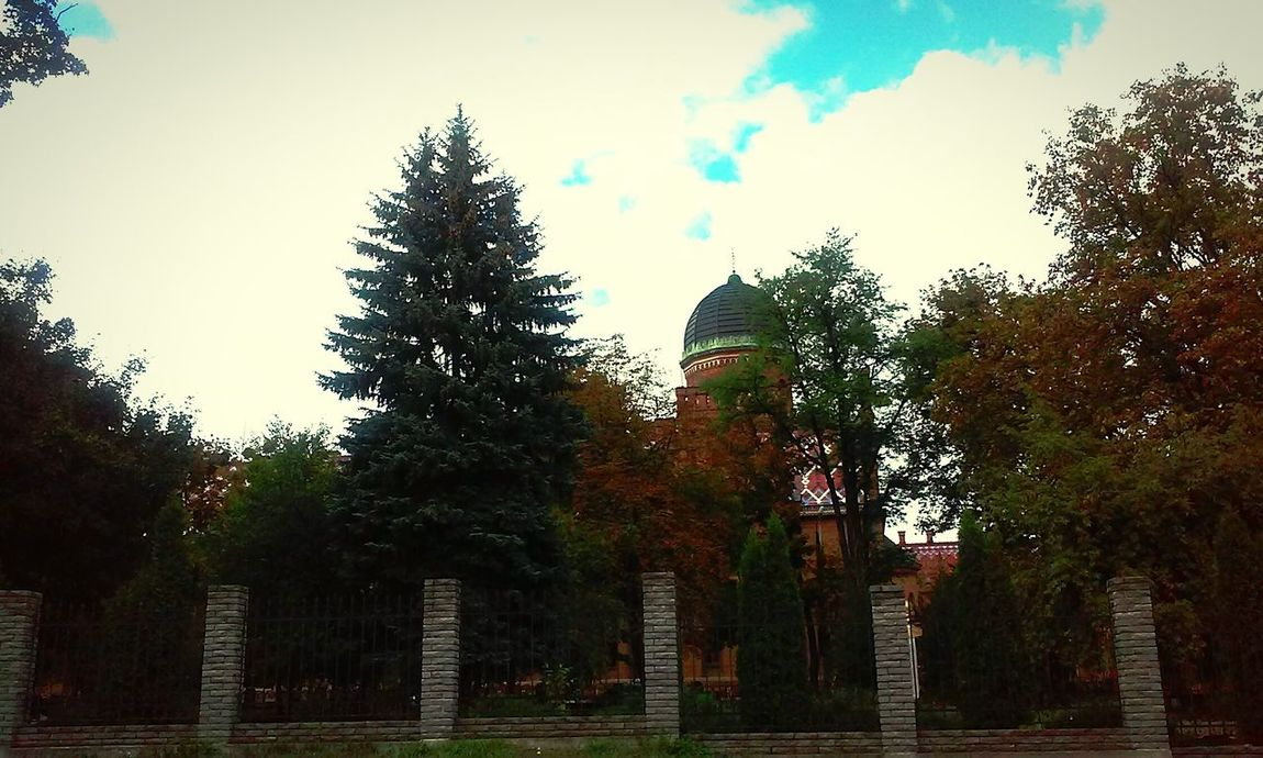 The sky always looks awesome 🌍☁🌀 Sky And Clouds Typical Day University Chernivtsi  Ukraine Autumn Colors
