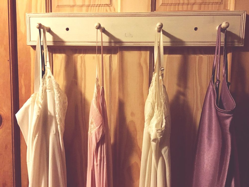 """""""strangers in the bathroom . . ."""" Hanging Out Bathroom Negligee Free Will"""