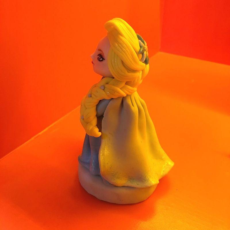ELSA Disney Polymer Clay Elsa♡ ElsaDisney
