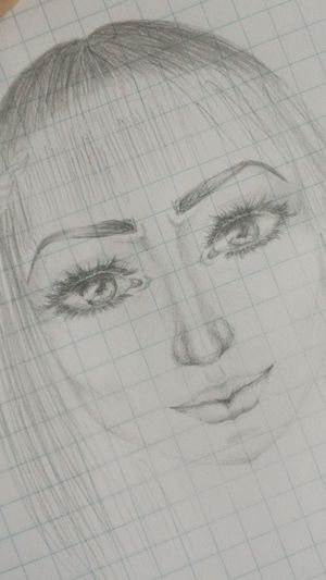 Fashion Drawing Art Getting Inspired Face Pencil Eye