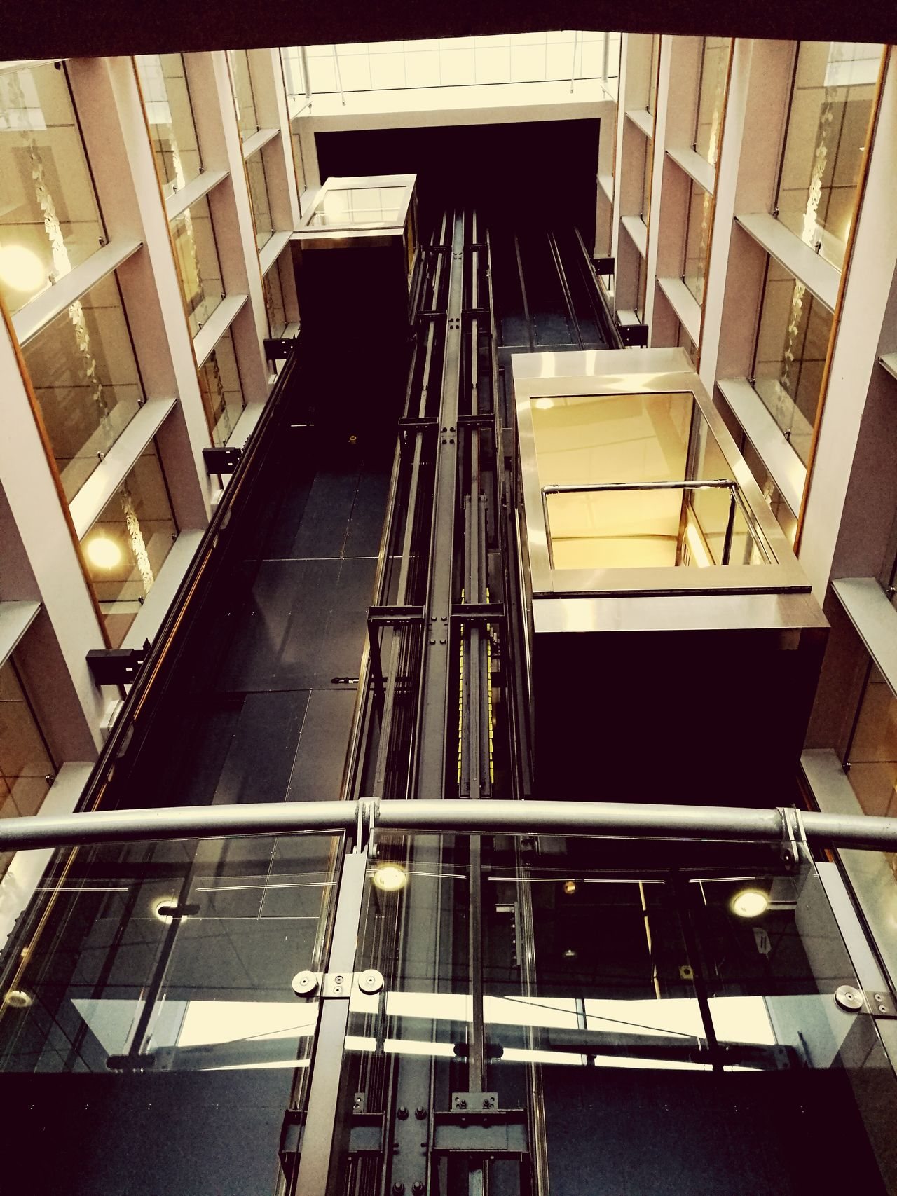 Why not take the lift? Elavator Indoors  Metal Built Structure Architecture Lift Shaft Lifts Liftshaft Elavatorfun Elavatorboys Internal View Whiteshotel Boltonwanderers Adapted To The City