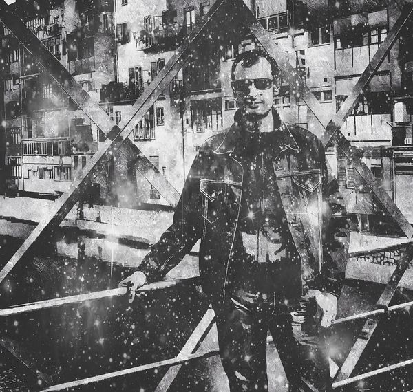 si las estrellas no vienen a mi tendré que ir a buscarlas, empápame universo de la magia de tus cuerpos Pixrl Pixrlexpress Experimental en Girona Black And White Photography Blanc I Negre Blanco Y Negro Black & White Black And White From My Point Of View Showcase: February Enjoying Life