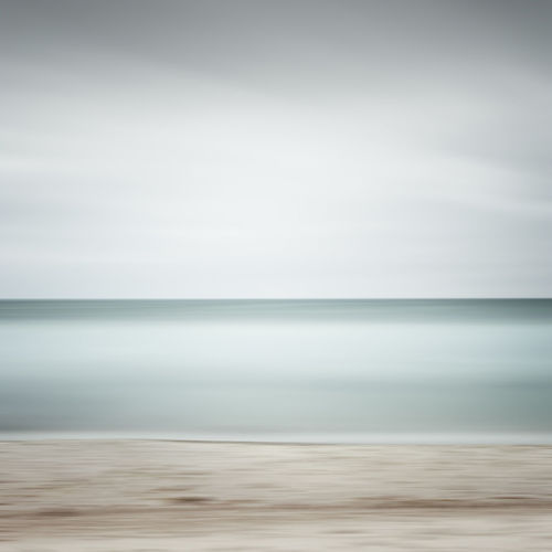 scenic view of sea against sky Abstract Photography Baltic Sea Beach Life Beach Beauty In Nature Day Fine Art Germany Horizon Over Water Kühlungsborn Long Exposure Minimalism Muted Colors Nature No People Outdoors Philipp Dase Sand Scenics Sea Sky Summer 2017 Tranquil Scene Tranquility Water