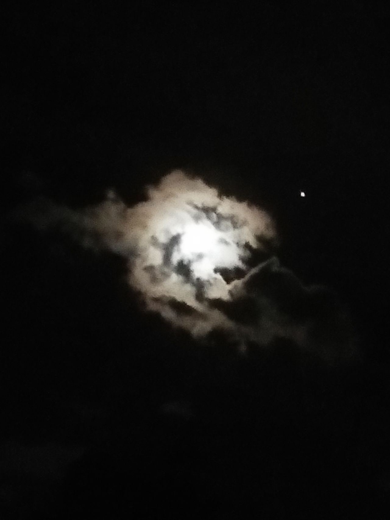 Beauty In Nature Nature Night Moon Black Background Sky Cloud - Sky No People Half MoonAwesome_view Traveling Photography Picture Taken On The Way Picture Taken By Oppof1 Camera Moon Behind Cloudes Natural Phenomenon Dark