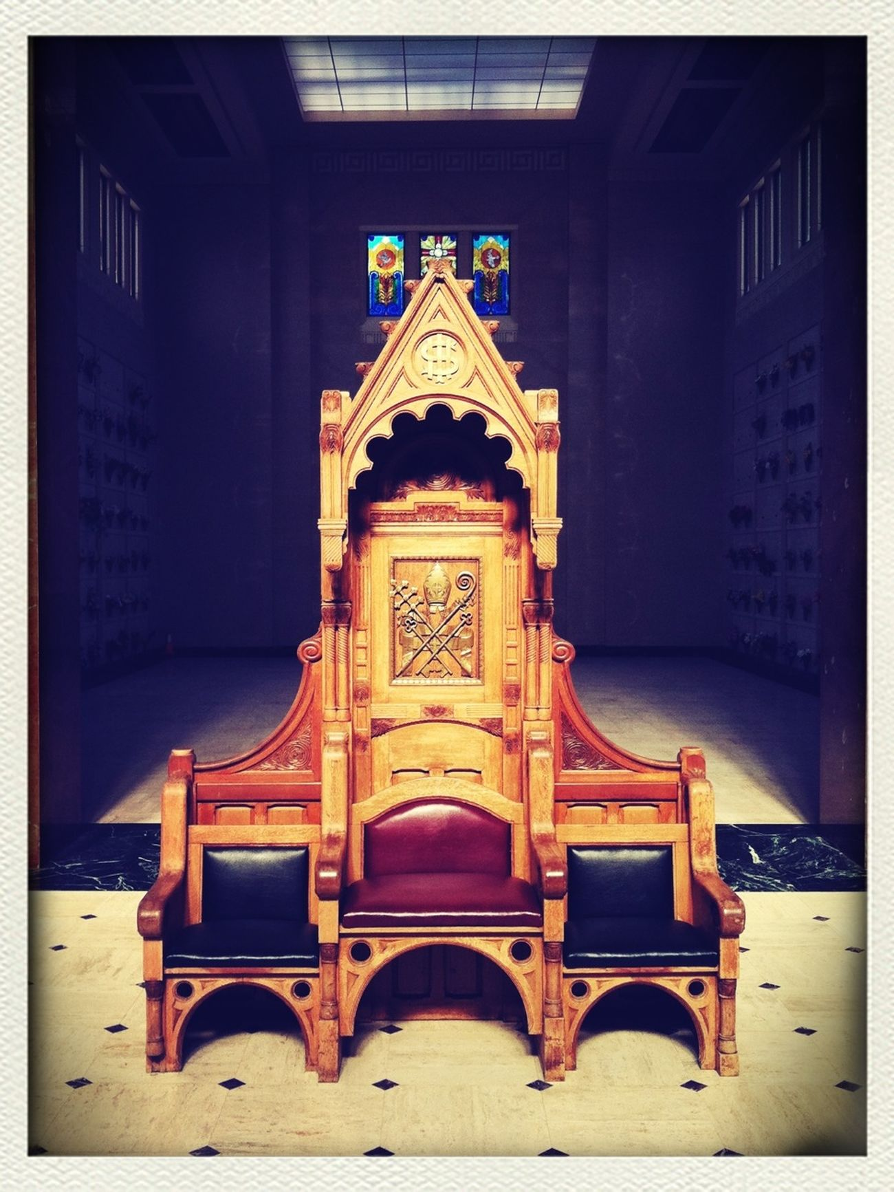 Catholic Church Chair Check This Out