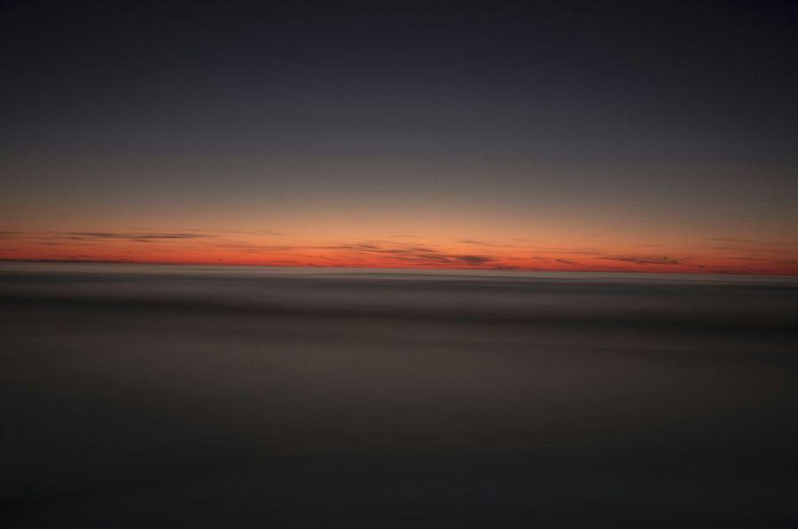 Sunset over Baltic Coast Baltic Coast Sunset Enjoy The Silence First Eyeem Photo