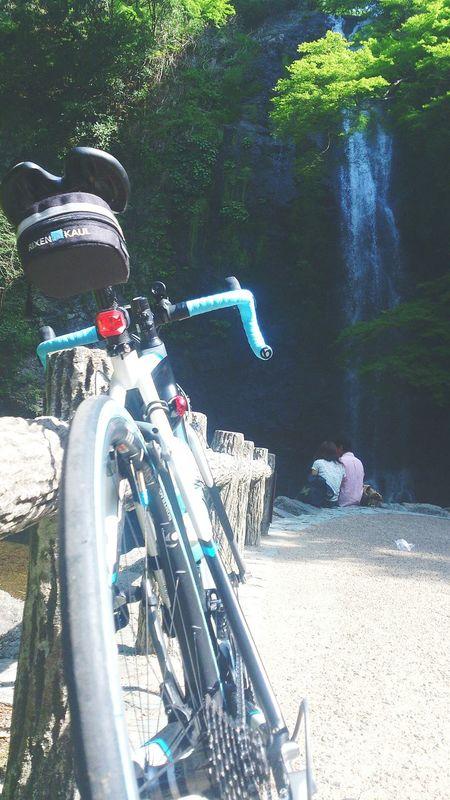 Lovers Roadbike Smartphonephotography Osaka,Japan Waterfall