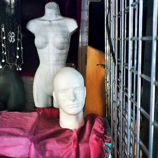 Window Shopping Window Display Mannequin Headless Heads NYC Photography I Shoot Film