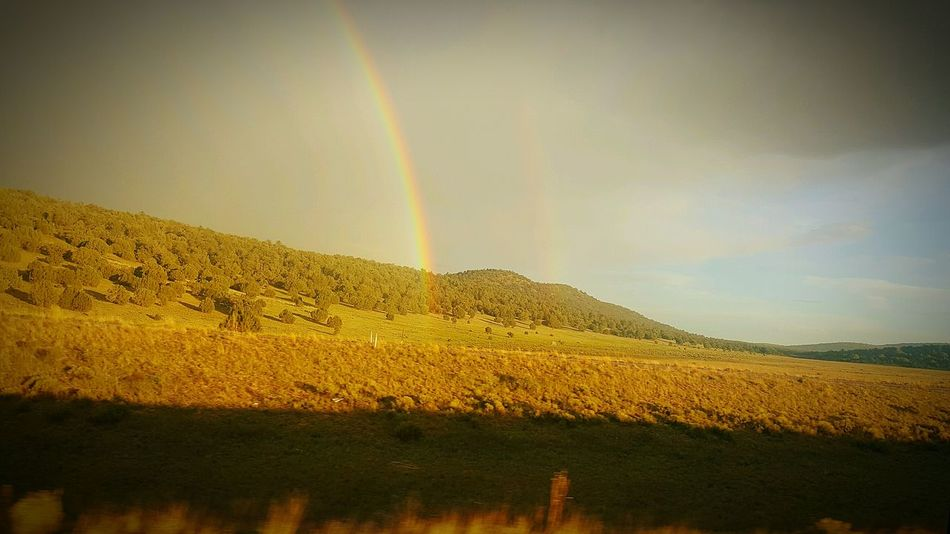 43 Golden Moments Dubbel Rainbow Mother Nature Is Amazing Driving Through The Hills Desert Beauty Sunset